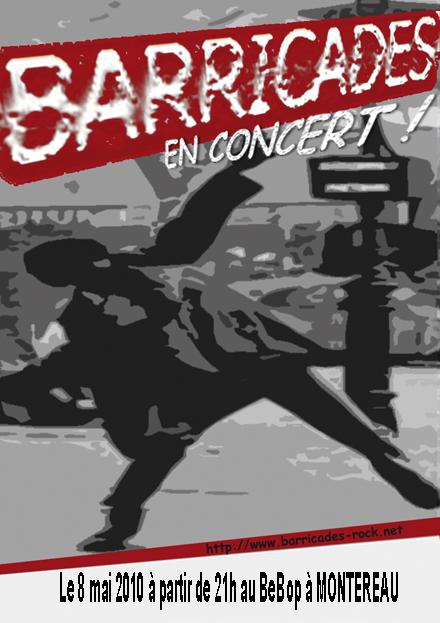 Barricades-affiche-concert BeBop