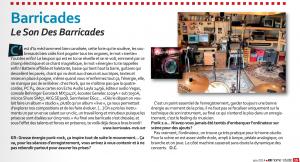 kr home studio - juin 2014-Barricades
