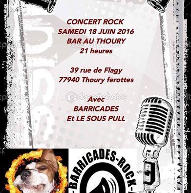 Concert Bariccades/ LSP